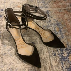 Sam Edelman 7.5 Mini, Closed Toe Heels